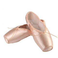 Sansha Adult Pink Satin Numero 1 La Pointe Ballet Shoes Medium Womens 14