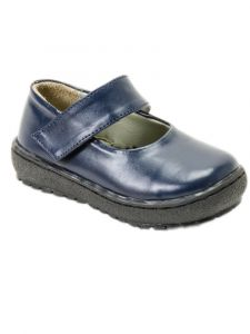 Pazitos Little Girls Navy Contempo Mary Jane Shoes 5-12 Kids