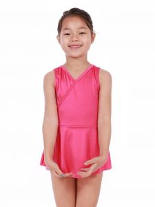 Veva by Very Vary Little Girls Sweet Pink Mari Simple Dance Dress 2-7