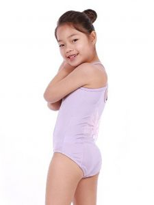 Veva by Very Vary Little Girls Lavender Mei Dance Leotard 2-7