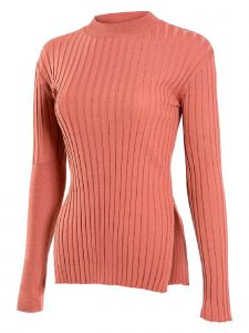 J.CHUNG Womens Multi Color Unbalance Knit Top S-L