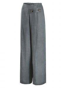 Maison De Ines Womens Multi Color Linen Wide Leg Pants S-L