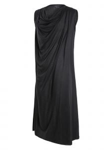 EUNJUKOH Womens Multi Color Neck Drape Midi Dress S-L