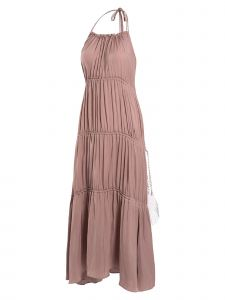 J.CHUNG Womens Dusty ROne Sizee Gipsy Holt Neck Dress S-L