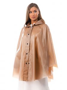 VForce Collection Womens Light Brown Everyday Poncho One Size