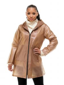 VForce Collection Womens Light Brown Commute Coat S-XL