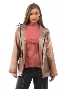 VForce Collection Womens Light Brown Motion Anorak Jacket S-XL