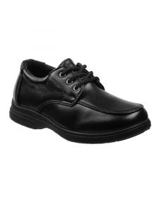 Josmo Boys Black Lace-Up Dress Shoes 5-10 Toddler
