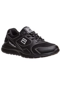 Avalanche Boys Black Lace Up Breathable Casual Sneakers 11-4 kids