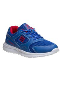 Avalanche Boys Blue Red Lace Up Breathable Casual Sneakers 11-4 kids