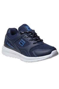 Avalanche Boys Navy Lace Up Breathable Casual Sneakers 11-4 kids