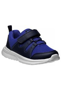 Avalanche Boys Navy Blue Hook And Loop Breathable Pull On Sneakers 11-4 kids