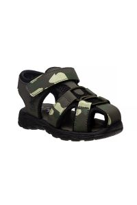 Beverly Hills Little Boys Green Camo Closed Toe Sandals 8 Toddler