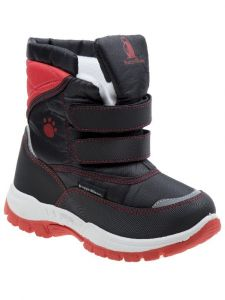 Rugged Bear Unisex Multi Color Hook And Loop Snow Boots 6 Toddler-4 Kids