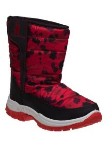 Rugged Bear Boys Multi Color Hook And Loop Snow Boots 11-4 Kids
