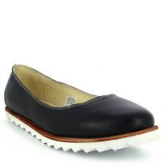 Oncextrees Adult Black Genuine Leather Fashionable Slip On Flats 5-10 Womens