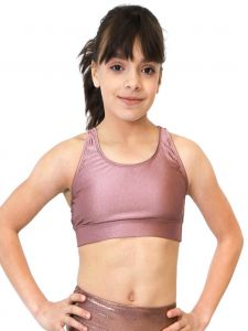 Veva by Very Vary Women Mocha Peri Crop Top XS-L