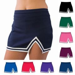 Pizzazz Navy A Line Cheer Uniform Skirt Girls 2-4