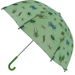 Pluie Pluie Raingear Green Bug Kids Umbrella