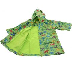 Pluie Pluie Boys Outerwear Green Frog Lined Raincoat 12M-8