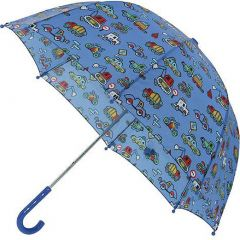 Pluie Pluie Raingear Blue Truck Kids Umbrella