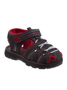 Rugged Bear Little Boys Multi Color Elastic Hook And Loop Sandals 5-10 Toddler