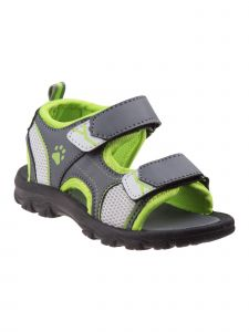 Rugged Bear Little Boys Gray Green Grippy Outsole Athletic Sandals 5-10 Toddler