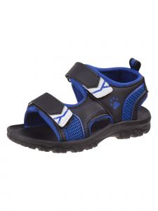 Rugged Bear Boys Black Blue Grippy Outsole Athletic Sandals 11-4 Kids