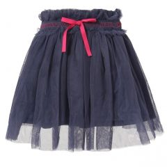 Richie House Little Girls Purple Pink Accents Tulle Skirt 2-4