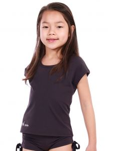 Veva by Very Vary Big Girls Deep Purple Ruby T-Shirt 6-12