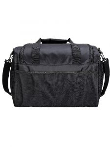 Sassi Designs Solid Black Duffel Bag