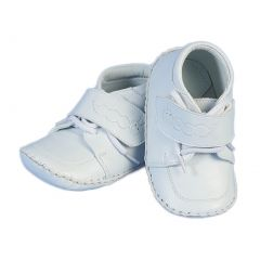 Angels Garment Baby Girls Boys White Christening Easter Shoes 0-3