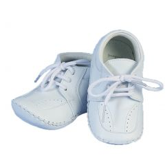 Angels Garment Baby Girls Boys White Christening Easter Lace Shoes 0-3