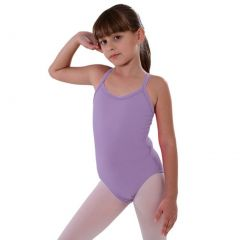 So Danca Lilac Rhinestone Band Dance Tank Leotard Little Girls 2-14