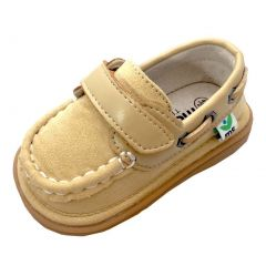 Mooshu Trainers Boys Sand Boat Sawyer Squeaky Casual Shoes 3 Baby-9 Toddler