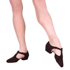 Sansha Adult Black T-Bar Greek Diva Teacher's Shoes Wide Womens 7