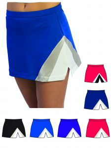 Pizzazz Women Multi Color Premier Tumble Skirt Adult S-2XL