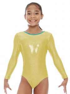 VEVA by Very Vary Women Citron Stella Mystique Gymnastics Leotard S