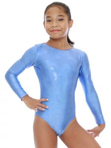 VEVA by Very Vary Women Marine Blue Stella Mystique Gymnastics Leotard S