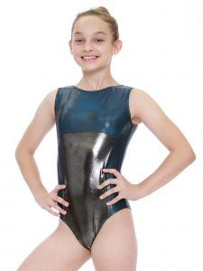 Womens Multi Color Gio Mystique Gymnastics Fancy Leotard XS-L