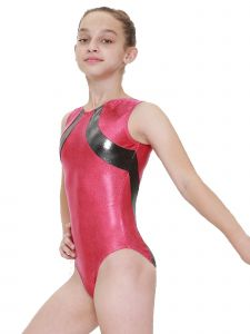 Womens Multi Color Sol Mystique Gymnastics Fancy Leotard XS-L