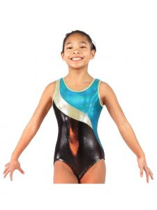 VEVA by Very Vary Big Girls Jade Anabelle Mystique Gymnastics Unitard 4-12