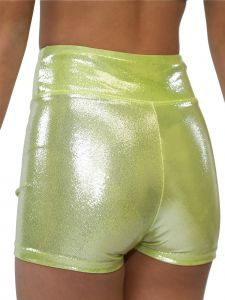 VEVA by Very Vary Womens Citron Kosmo Mystique Gymnastics Shorts XS-L