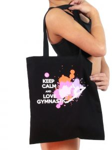 VEVA by Very Vary Girls Black Gymnastics Tote Bag