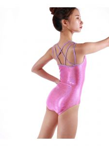 Veva By Very Vary Women Pink Atlanta Gymnastics Leotard XS