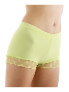 Veva by Very Vary Girls Lime Fit Shorts Lace Detail Girls 6-XS