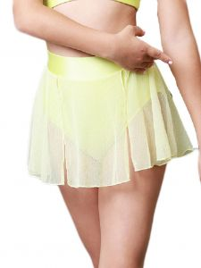 Veva by Very Vary Big Girls Citron Wing Dance Skirt 8-12