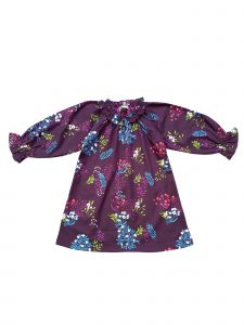 Sophie Catalou Baby Girls Purple Iridescent Chambray Teresa Dress 18M