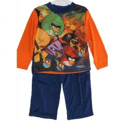 Spiderman Little Boys Orange Spidey Graphic Print 2 Pc Pajama Set 4-6