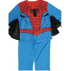 Marvel Little Boys Sky Blue Spiderman Superhero 2 Pc Pajama Set 2T-6